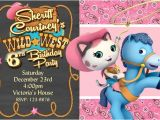 Sheriff Callie Party Invitations Sheriff Callie 39 S Invitation Birthday Party Invitation