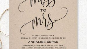 Simple Homemade Bridal Shower Invitations 17 Printable Bridal Shower Invitations You Can Diy