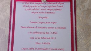 Simple Quinceanera Invitations Simple but Chic Quinceanera Invitation Wedding