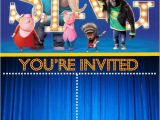 Sing Party Invitations 66 Best Images About Sing the Movie Printables On