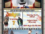 Sing Party Invitations Sing Movie Birthday Invitation Illumination Sing Movie