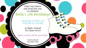 Skating Party Invitation Template Free Roller Skate Invitations Template Best Template Collection