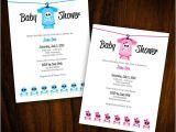 Skull Baby Shower Invitations Baby Shower Invitation Skull & Crossbones by