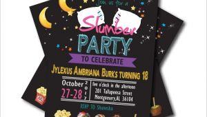 Slumber Party Invitations for Adults 20 Pcs Lot Slumber Party Invitations Pajama Sleepover
