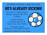 "Soccer Baby Shower Invitations soccer Baby Shower Invitation Customizable 4 5"" X 6 25"