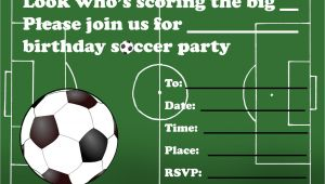 Soccer Invitations for Birthday Party Kids Birthday Party Invitations Free Printable