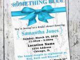 Something Blue Bridal Shower Invitations something Blue Bridal Shower Invitation Wedding Shower