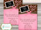 Sonogram Baby Shower Invitation Templates Ultrasound Baby Shower Invitations
