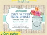 Southern Bridal Shower Invitations southern Bridal Shower Invitation by Sunnysideprintparty