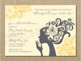 Spa Bridal Shower Invitations Blissful Day at the Spa Bridal Shower Invitation Digital
