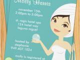 Spa Bridal Shower Invitations Spa Party Invitation Great for Birthdays Bridal Showers