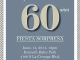 Spanish Birthday Invitation Wording Samples 60th Birthday Party Invitations