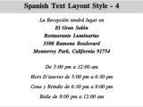 Spanish Birthday Invitation Wording Samples Wedding Invitation Rsvp Wording In Spanish Matik for
