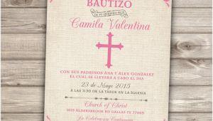 Spanish Invitations for Baptism Chandeliers & Pendant Lights