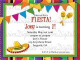 Spanish Party Invitation Template Spanish Birthday Party Invitations Invitation Librarry