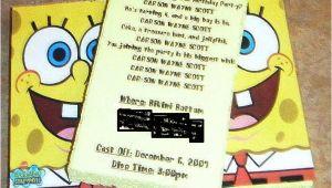 Spongebob Birthday Invitation Ideas Our Scott Spot Spongebob Invitations