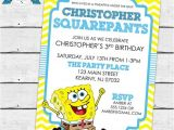 Spongebob Squarepants Invitations Birthday Party top 25 Ideas About Spongebob Squarepants Birthday Ideas On