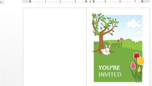 Spring Party Invitation Templates Free Spring Party Invitation Template for Word