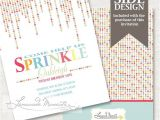 Sprinkle Birthday Invitations 71 Best Images About Sprinkle Birthday Party theme On