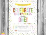 Sprinkles Birthday Party Invitations Printable Sprinkles Birthday Invitation Sprinkle with
