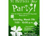St Patrick S Day Party Invitations 1000 Images About St Patrick S Day Invitations On Pinterest
