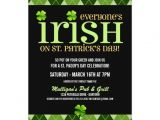 St Patrick S Day Party Invitations Argyle St Patricks Day Party Invitations
