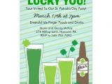 "St Patrick S Day Party Invitations St Patricks Day Celebration Party Invitations 5"" X 7"