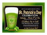 St Patty S Day Birthday Invitations Green Beer St Patricks Day Party Invitations