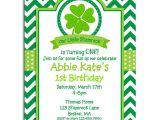 St Patty S Day Birthday Invitations St Patrick S Day Invitation Printable Birthday by