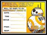 Star Wars Birthday Invitation Template 20 Star Wars Birthday Invitation Template Word Psd