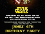 Star Wars Birthday Invitation Template Custom Printable Happy Birthday Invitation Lego Star Wars