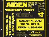 Star Wars Birthday Invitation Template Star Wars Birthday Party Invitation by Susieandme On Etsy