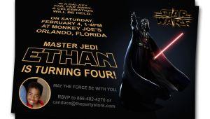 Star Wars Photo Birthday Invitations Free Printable Star Wars Birthday Invitations