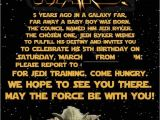 Star Wars Photo Birthday Invitations Star Wars Birthday Invitations