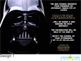 Star Wars Photo Birthday Invitations Star Wars Birthday Party Invitations