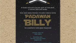 Star Wars themed Birthday Party Invitations Star Wars Birthday Party Invitation Star Wars by