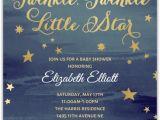 Starry Night Baby Shower Invitations Starry Night Baby Shower Invitation