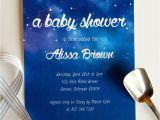 Starry Night Baby Shower Invitations Starry Night Baby Shower