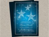 Starry Night Baby Shower Invitations Starry Night Bridal Shower Invitation Printable Bridal