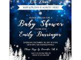 Starry Night Baby Shower Invitations Starry Night Galaxy Deer Baby Shower Invitation Editable