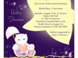 Starry Night Baby Shower Invitations Starry Night Mom & Baby Owls Baby Shower Invites 5 25