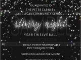 Starry Night Party Invitations New Invitation Starry Night Liiartsa