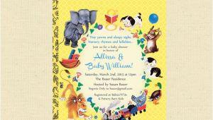 Storybook Baby Shower Invites Storybook Baby Shower Invites