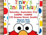 Street Party Invitation Template Elmo Invitation Elmo Invitation Elmo Birthday Invite Sesame