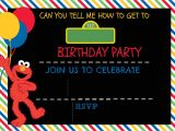 Street Party Invitation Template How to Make A Sesame Street Digital Invitation Includes