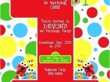 Street Party Invitation Template Inspiring Sesame Street Invitation Templates Gallery