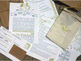 Summer Camp Wedding Invitations Summer Camp Woodland Inspired Wedding Invitations