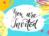 Summer Party Invitation Template 18 Summer Party Invitations Psd Ai Eps Free