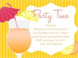 Summer Party Invitation Template Summer Party Invitations Summer Party Invitations