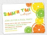 Summer Party Invitation Wording Summer Party Invitations Summer Party Invitations
